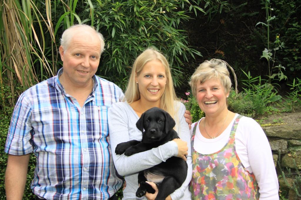 Avanti mit seiner neuen Familie