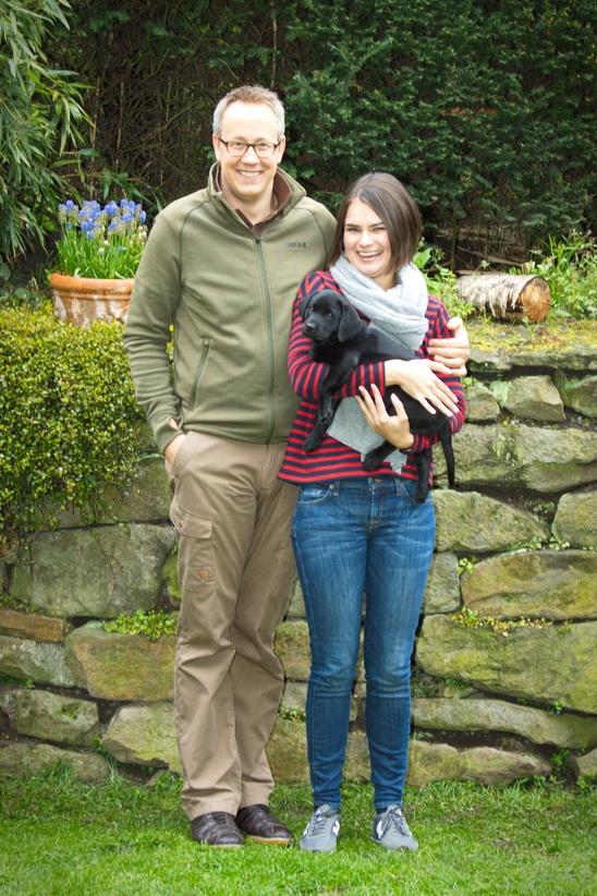 Claus & Julia mit Bailey vom Oemberger Moor